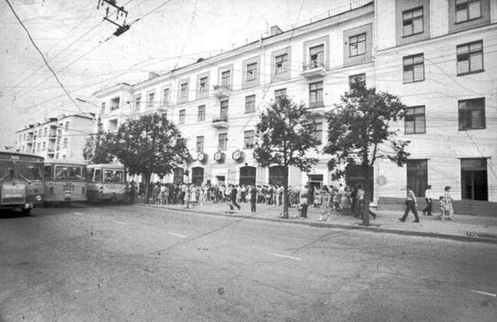 Магазин - Рубин. Советская 15. Ижевск.