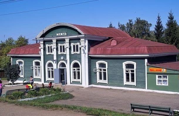 Вокзал железнодорожной станции Можга.