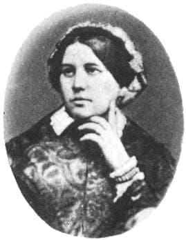 Чайковская А.А., мать Петра Ильича Чайковского, 1848