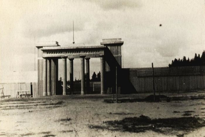 В 1937 году в Парке Кирова был оборудован открытый стадион. Ижевск.