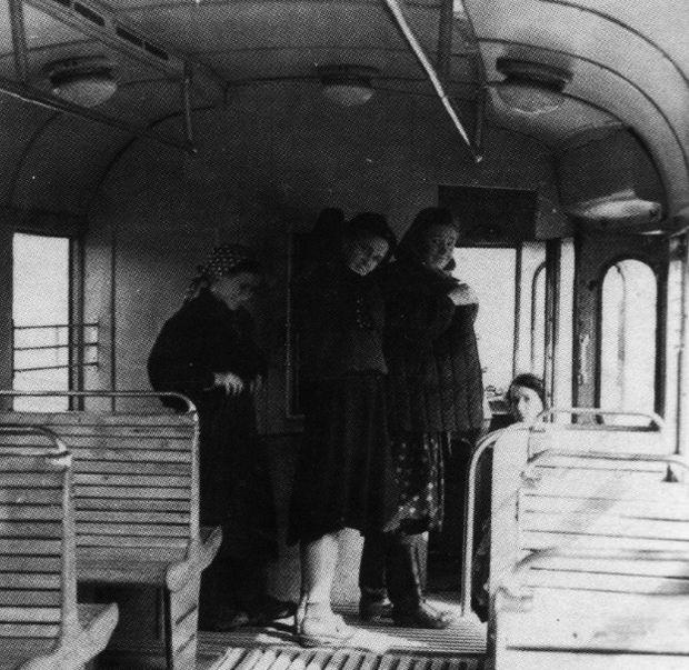 Трамвай КТМ-1. Ижевск. 1955 г.