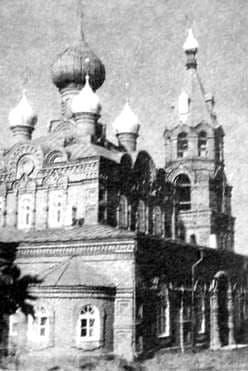 Советское-Никольское Удмуртия. Храм в честь Вознесенья Господне. Приход основан 1863 г. Русский стиль.