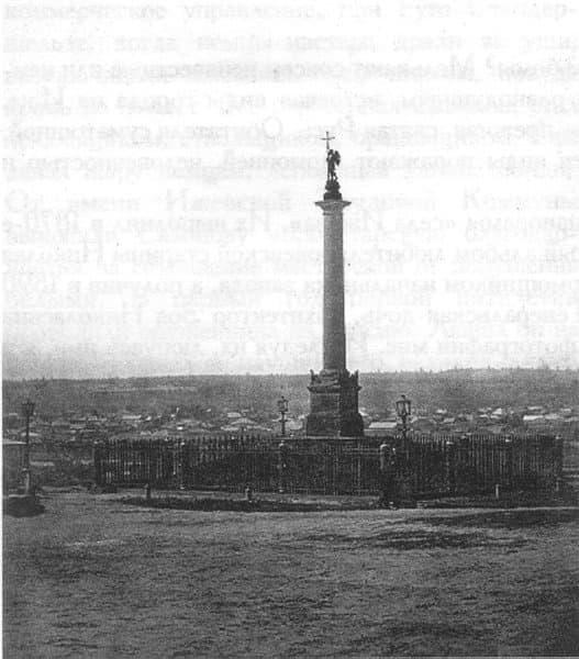 Памятник великому князю Михаилу Павловичу в Ижевске.