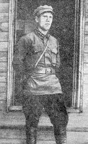 Первый начальник Можгинского управления уездной милиции Тупиков Иван Петрович. 1921 г.