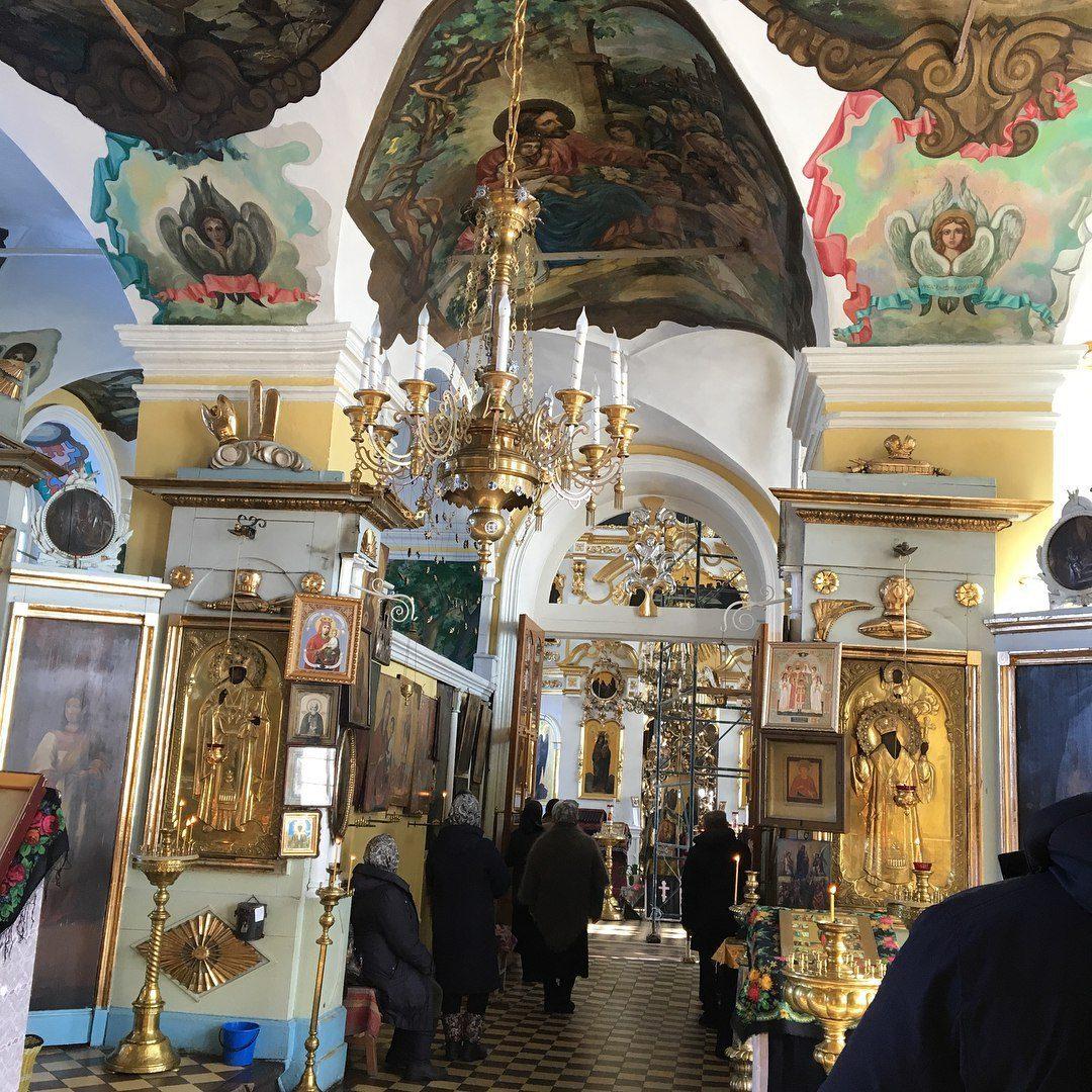 Храм Казанской иконы Божией Матери — православный храм в с.Можга. 2018 год.