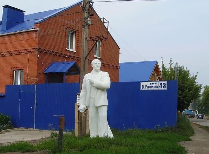 Памятник В.И.Ленину в Ижевске. 2013 г.