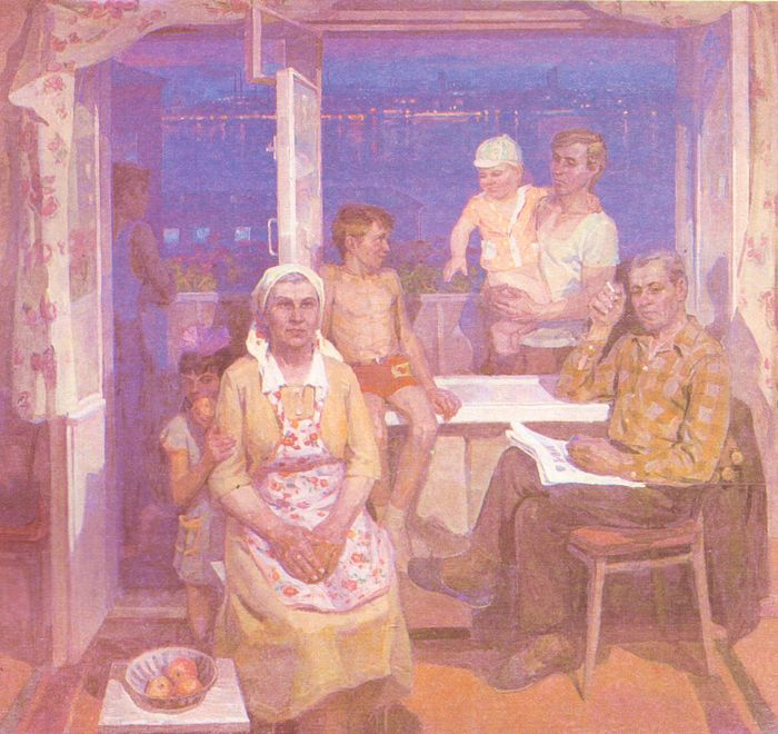 Семенов П. Семья. Ижевские металлурги Обуховы. (1979)