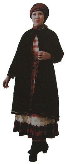 Верхняя одежда. Южные удмурты. Елабужский уезд. начало XX века. Удмуртская народная одежда.