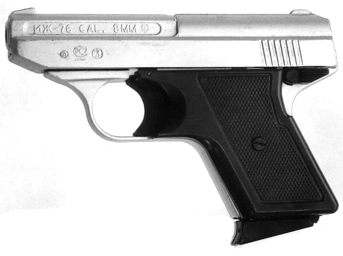 Газовый пистолет ИЖ-76 (IZH-76). Адаптированный пистолет Reck G5. Оружие Ижевска.