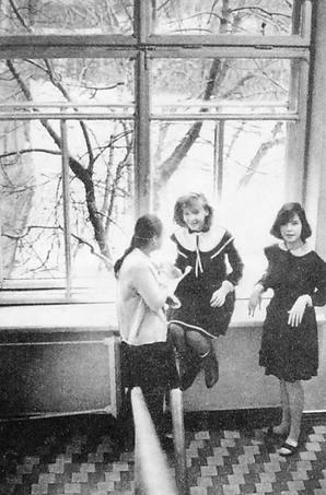 Ижевские школьницы.