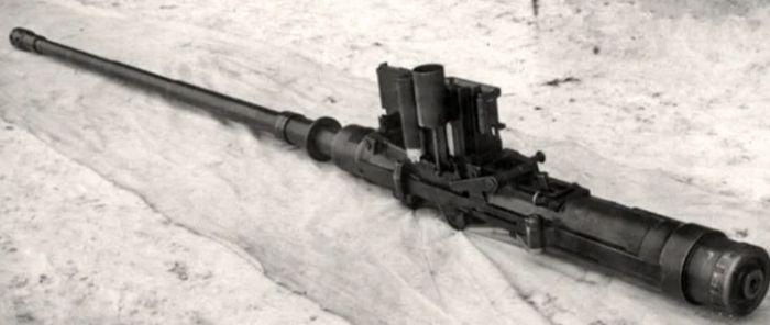 Авиационная пушка системы Нудельмана  НС-45.