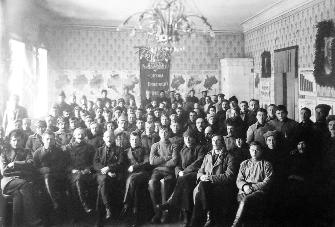 Съезд Советов Вотской автономной области. Август 1923г.