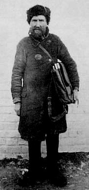Сюмсинский сельписьмоноша. 1935 г.
