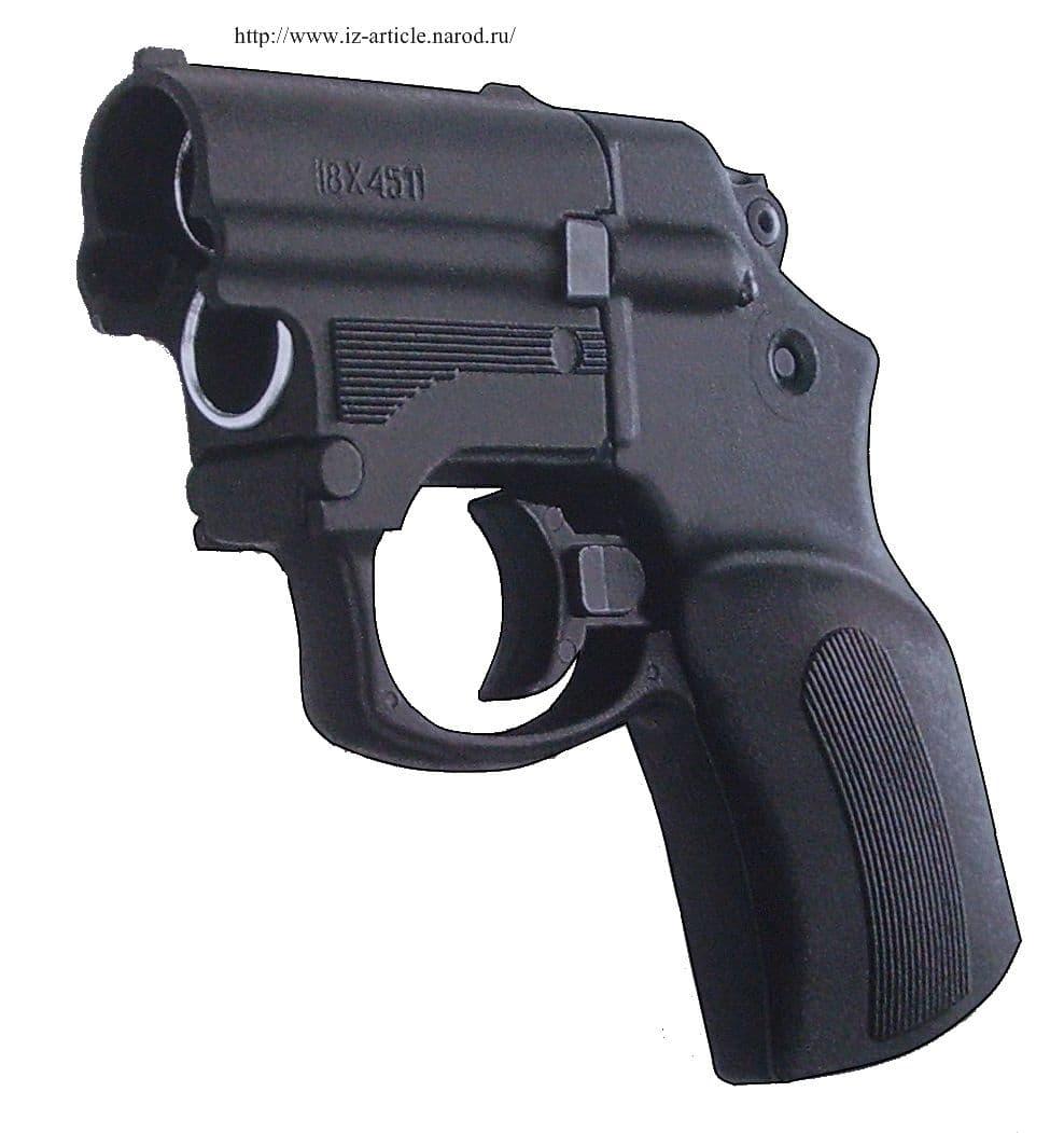 Бесствольный пистолет МР-461 Стражник (MP-461 Strazhnik), оружие Ижевска.