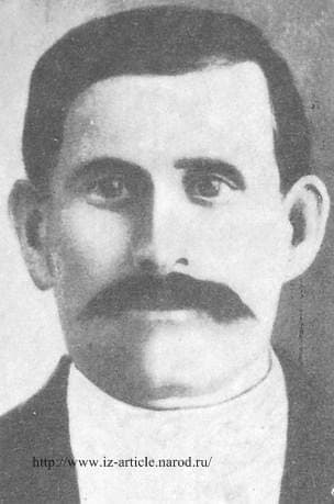 Жечев Василий Степанович председателем Ижевского Совета. Рабочий-большевик, павший от рук белогвардейцев в 1918 году.