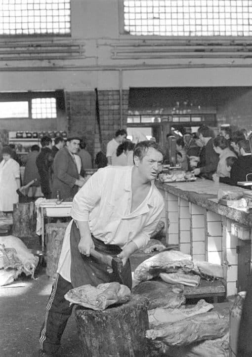 Центральный рынок в Ижевске, 1980-е годы.