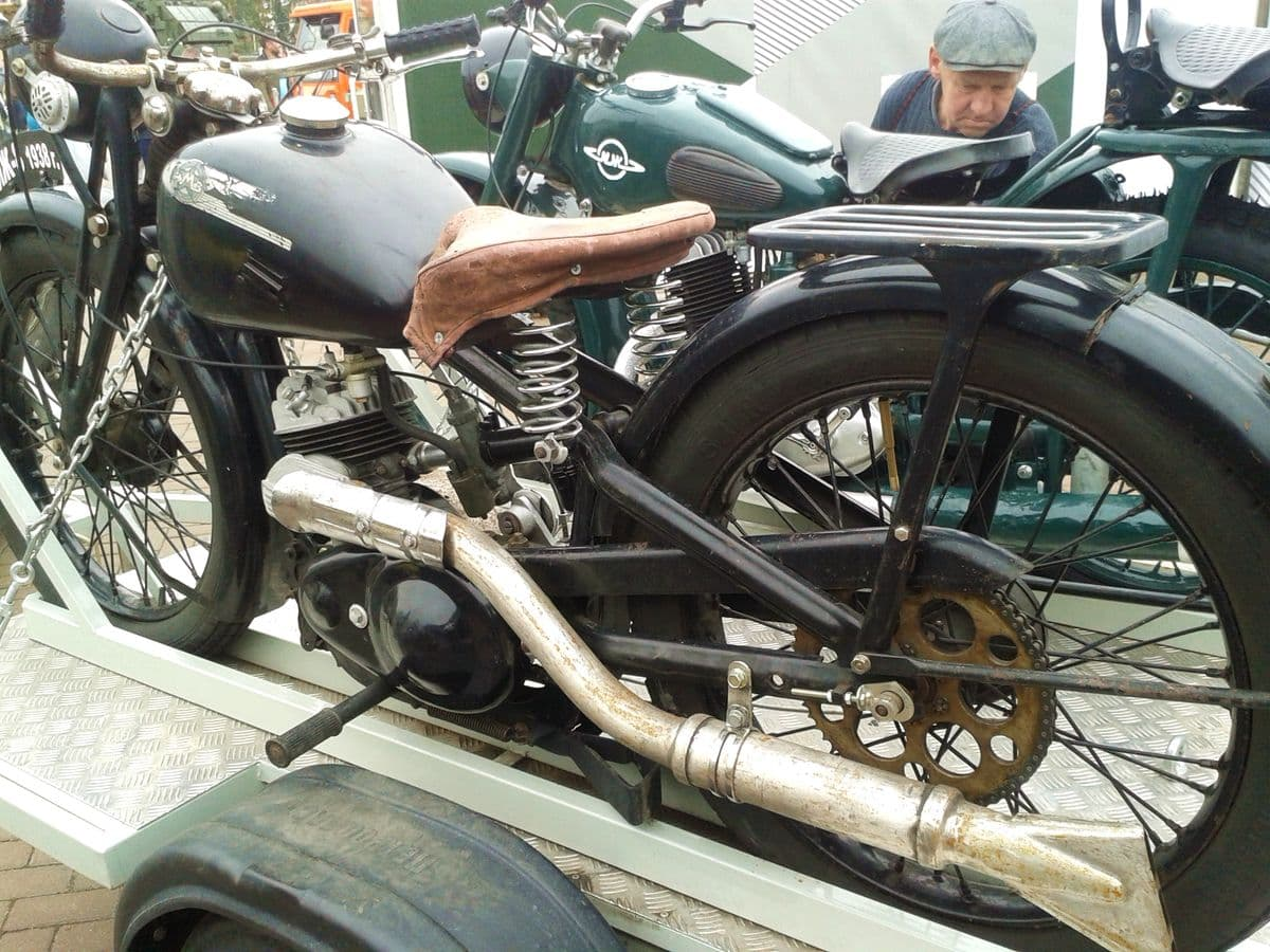 Мотоцикл Иж8. Ижевск. Фото 2018 года.
