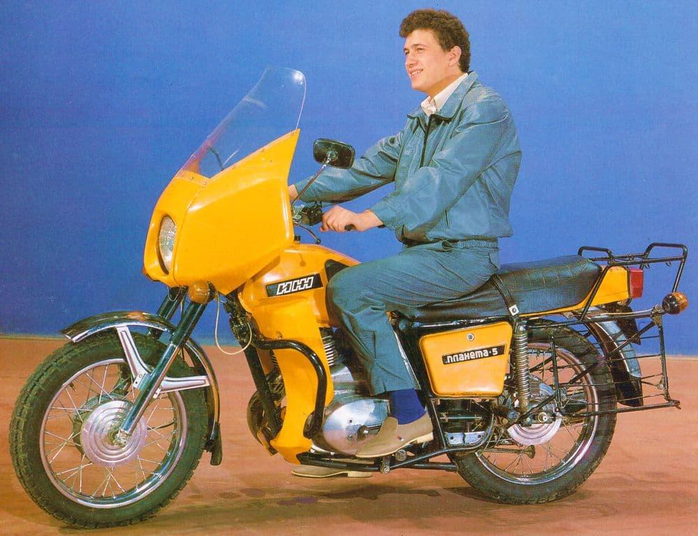 Мотоцикл ИЖ Планета 5 (IZH Planeta 5 Motorcycle), 80-е год ИЖМАШ.