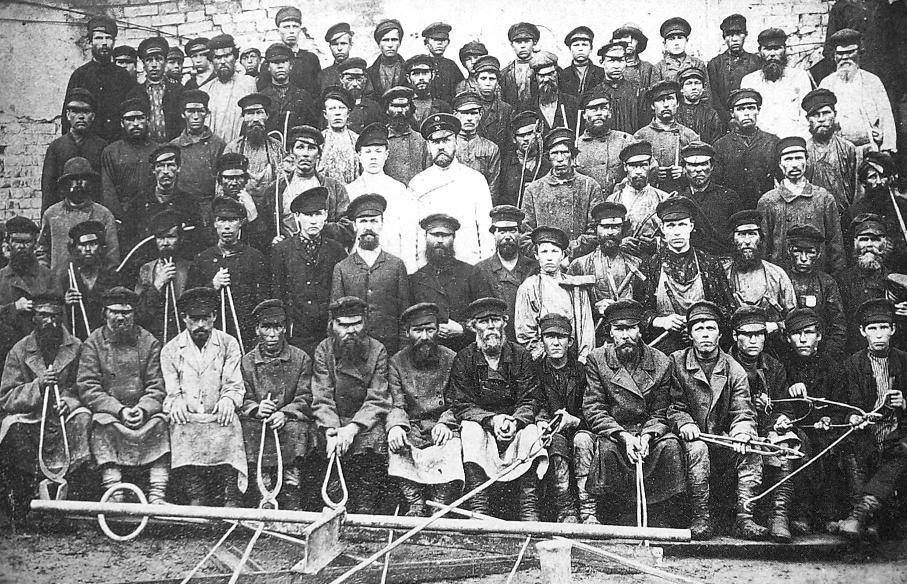 Рабочие Воткинского завода.