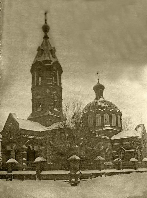 Храм Покрова Пресвятой Богородицы, село Июльское. Удмуртия