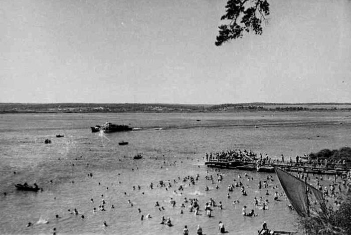 Ижевский пруд, лето 1964 года.