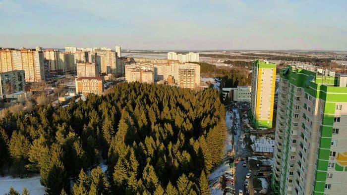 Дома №7 и 9 на ул. Татьяны Барамзиной. Ижевск.
