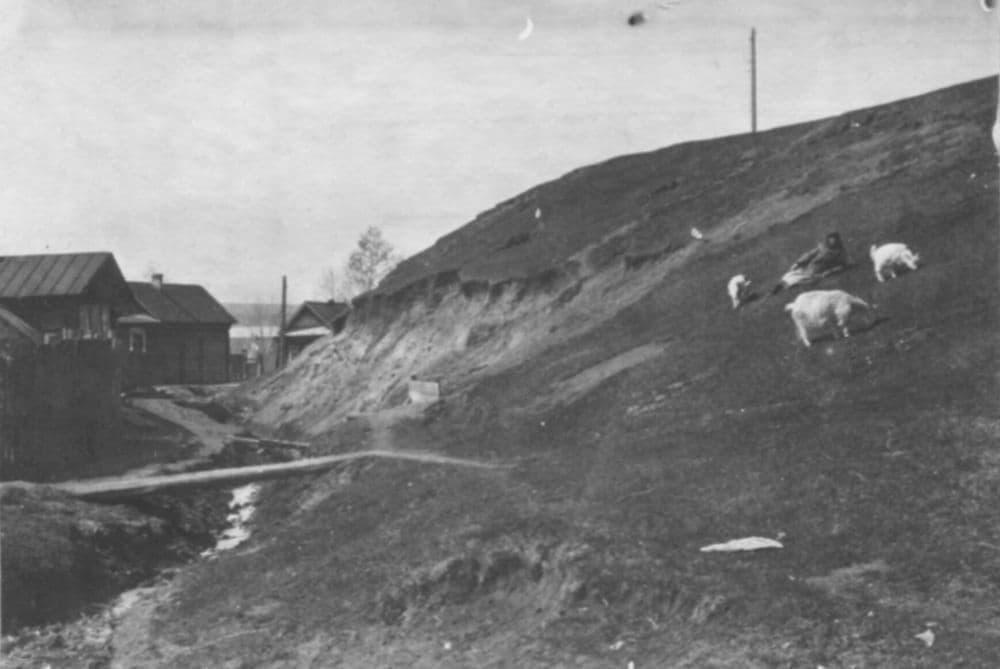 Вшивая горка Ижевска. Фото: Сергей Кошурников, 1934 год