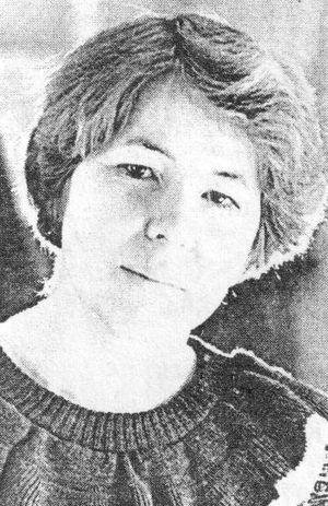 Детский писатель, журналист Лия Яковлевна Малых (Широбокова).