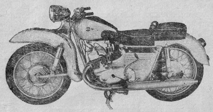 Мотоцикл ИЖ- Сириус