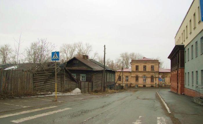 Дом Коковихиных. Ижевск. Свердлова 9.
