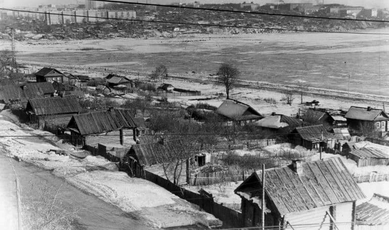 Береговая улица 1971 год. Ижевск.