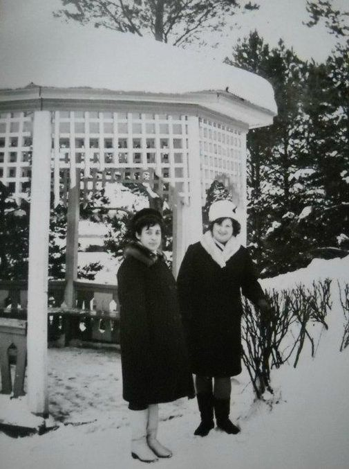 Дом отдыха Чепца Глазов 1972 год.