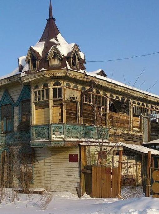 Дом купца Овчинникова в Воткинске