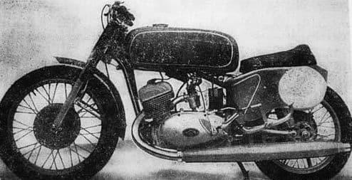 Мотоцикл ИЖ-54