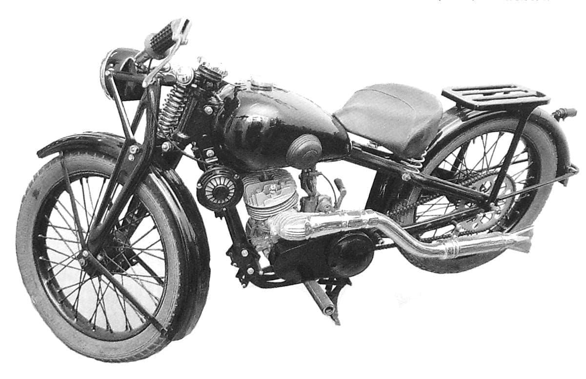 Мотоцикл иж-7