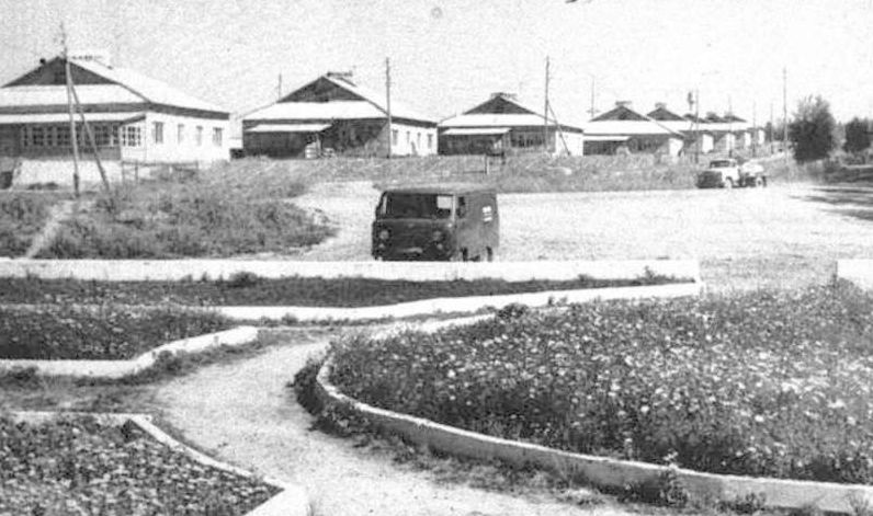 Деревня Старая Бодья. Кизнерский район. Фото: 1987 г. Удмуртия.