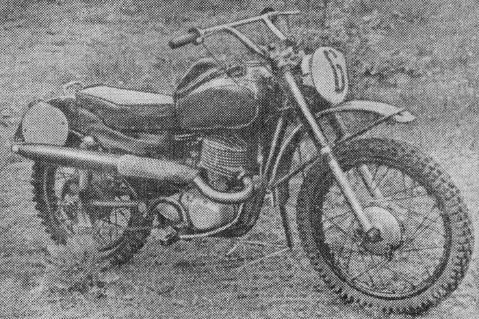 Мотоцикл ИЖ-60м