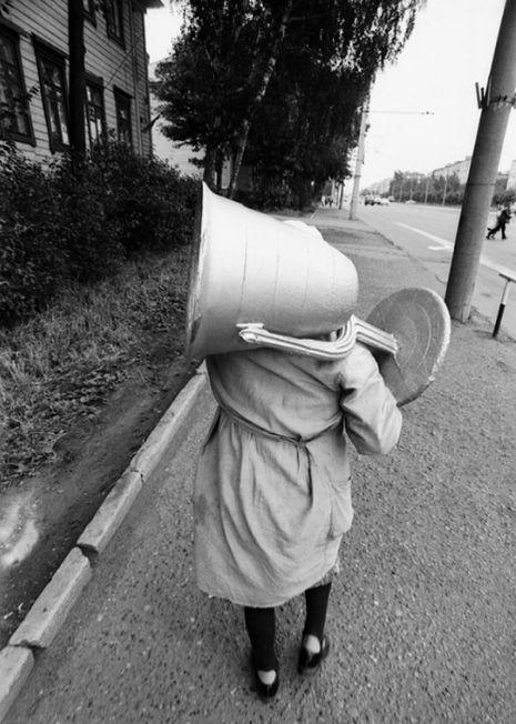 На улице Кирова Ижевск, 1980-е годы.