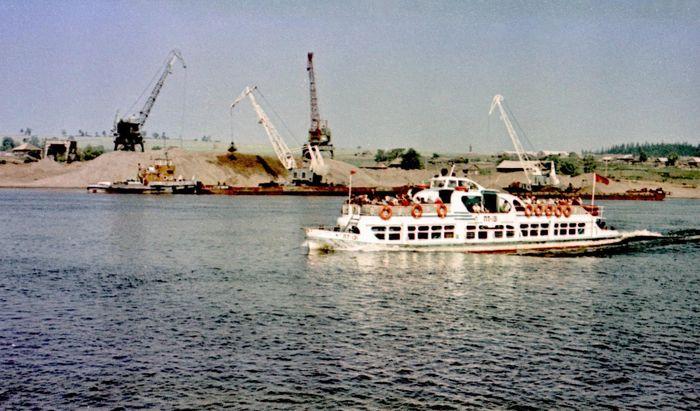 Лето 1973 год. Фото Макшакова А.М. (Фотоархив музея ЭГЗ). Кама. Сарапул.