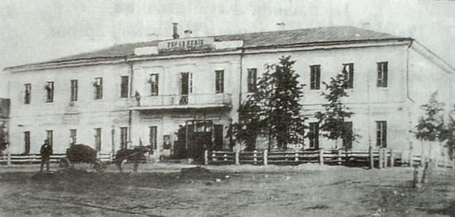 Здание управления Камско-Воткинского горного округа. Воткинск.