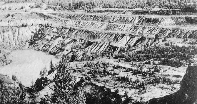 Гора Благодать, Гороблагодатский рудник  на урале.