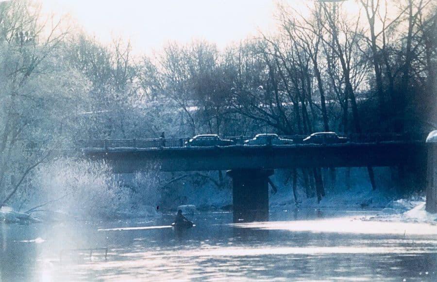 Долгий мост - первый мост через ИЖ.