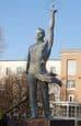 Памятник Вечному студенту. Ижевск.