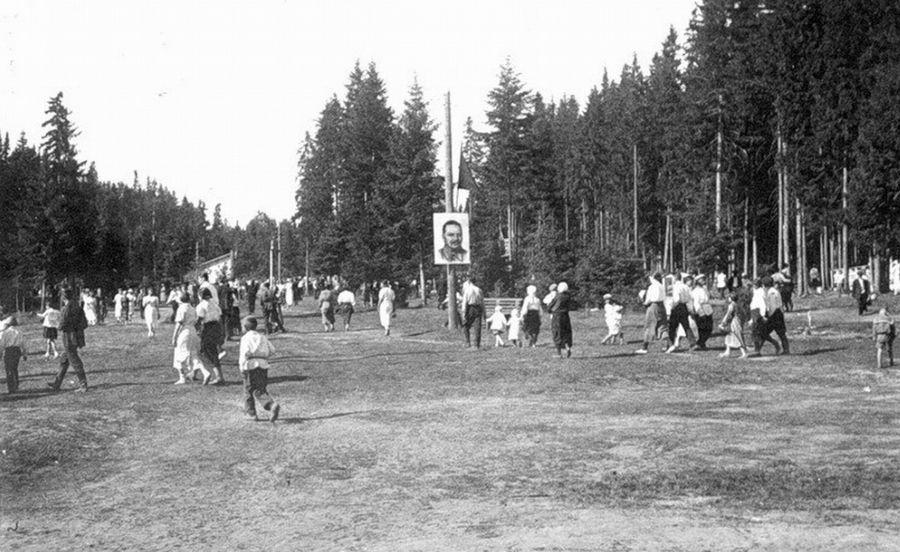 Парк Кирова. 1930-е Фото К.А. Тихонова.