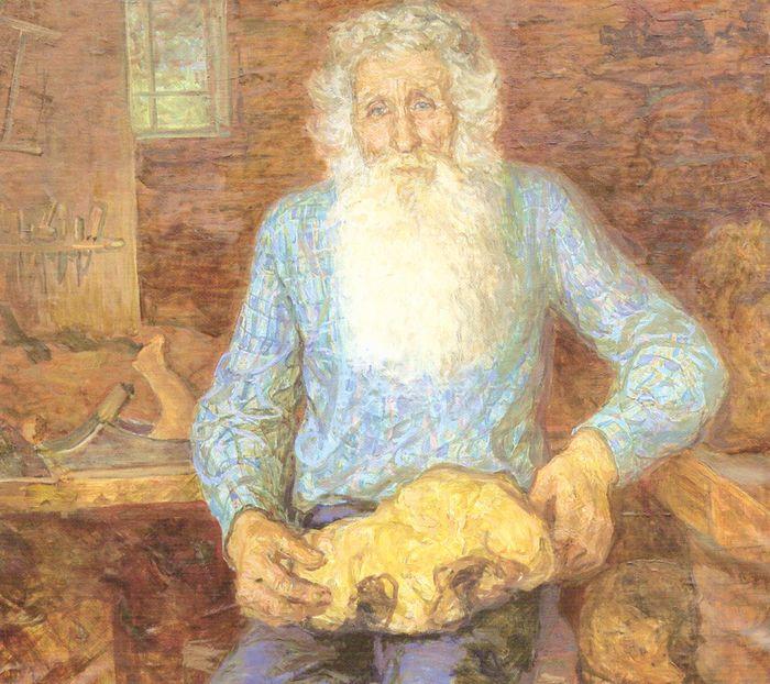 Семен Виноградов художник.. Народный умелец К.Ф.Чирков. 1982.