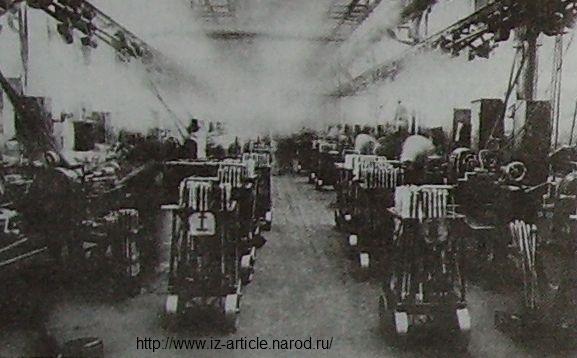 Цех ствольно-винтовочного производства Госуд. союзного завода №74. Ижевск. 1943г.