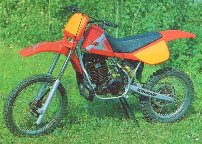 Мотоцикл ИЖ-6.219 кроссовый (IZH 6.219 Motorcycle crosscountry type)