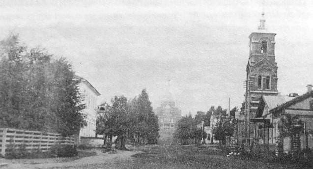 Улица Церковная. Ильинская церковь. Ижевск