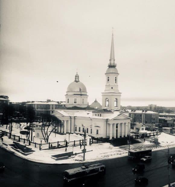 Современный Александро-Невский собор, Ижевск.