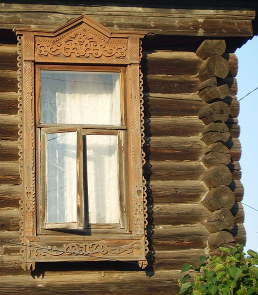 Фото наличника на ул. Бабушкина Ижевск.